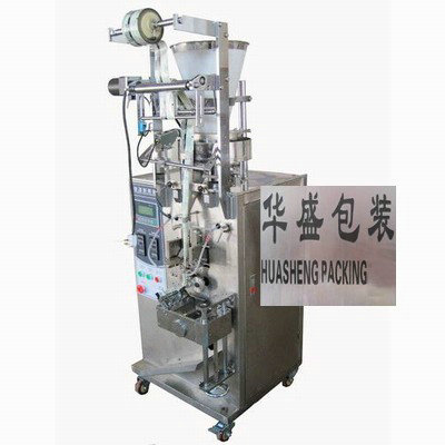 Rotary knife granule packing machine