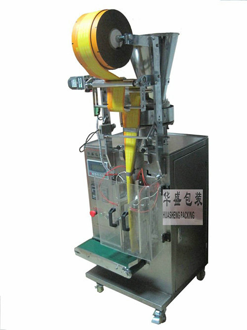 Fully automatic edge sealing granule packing machine